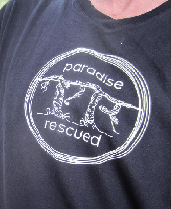 Paradise Rescued Tee Shirt - Harvest Day 2012 Cardan