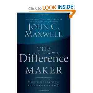 Book The Difference Maker