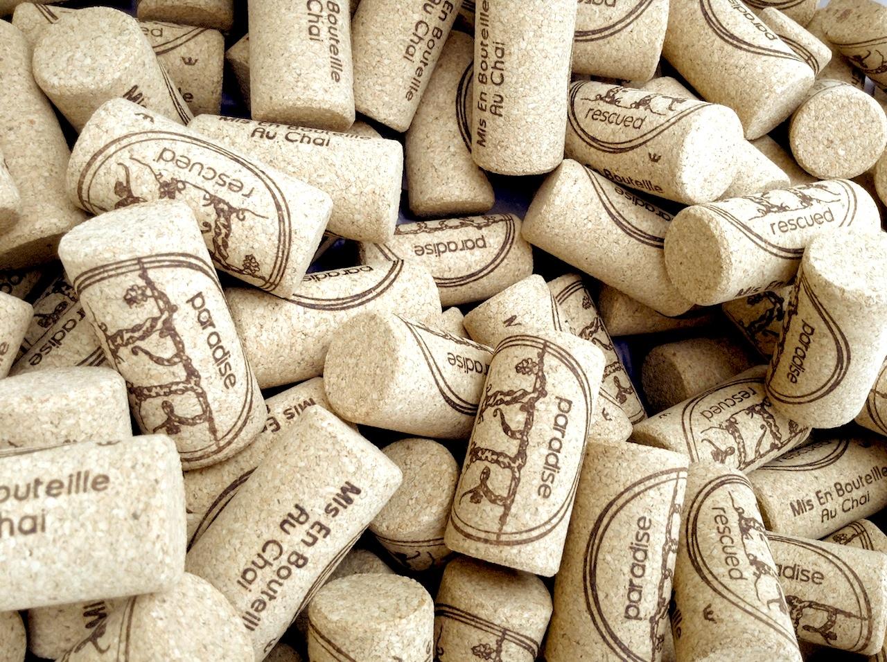 Paradise Rescued designer BTEC+ corks