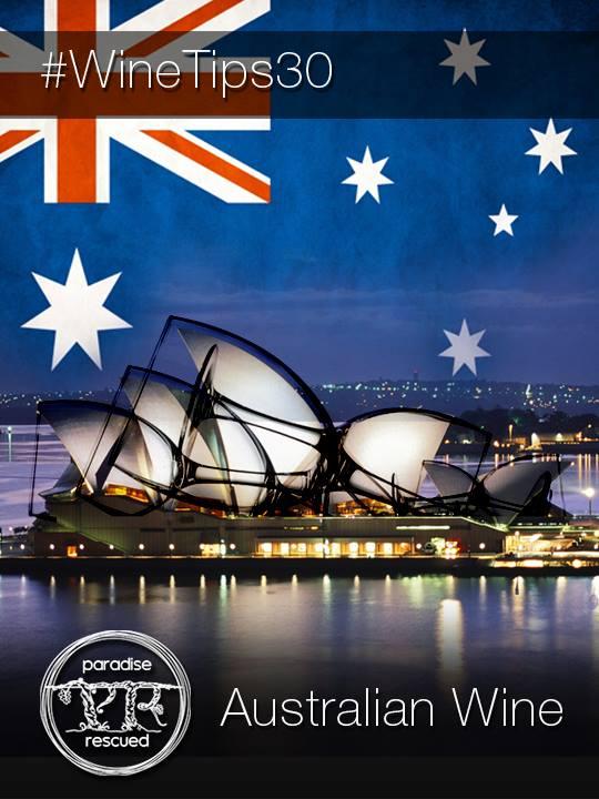 #WineTips30 Australian Wine