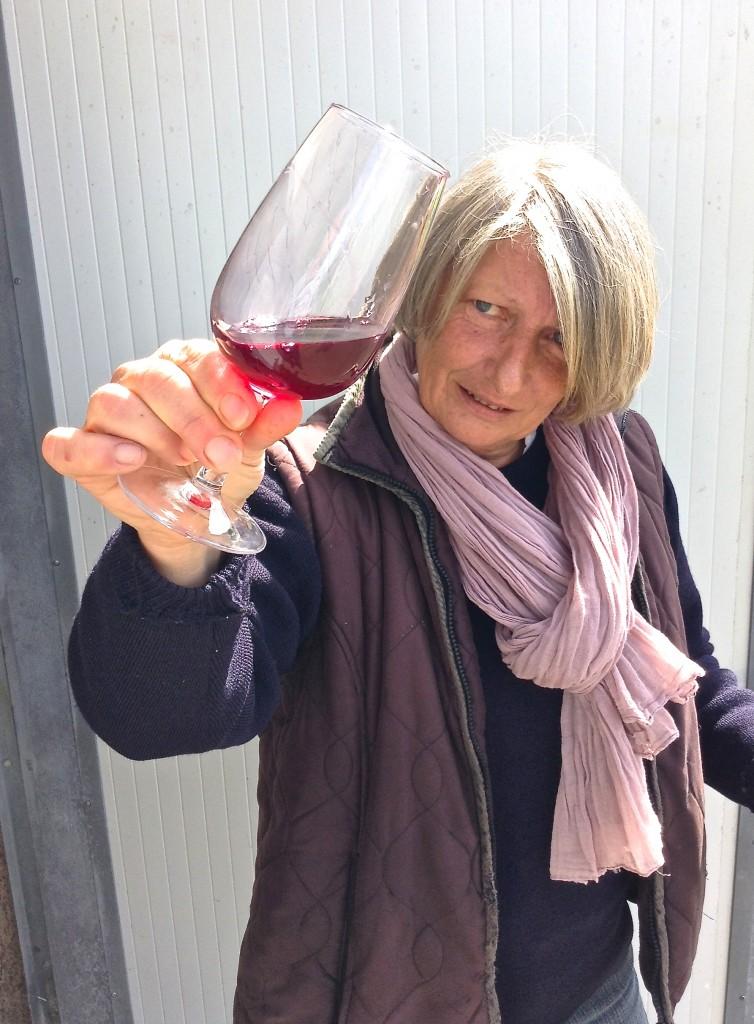 Paradise Rescued vigneronne extraordinaire - Pascale Bervas.