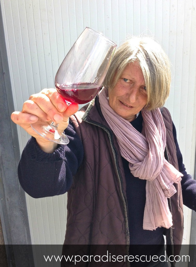 One of the greatest rewards - Pascale our vigneronne