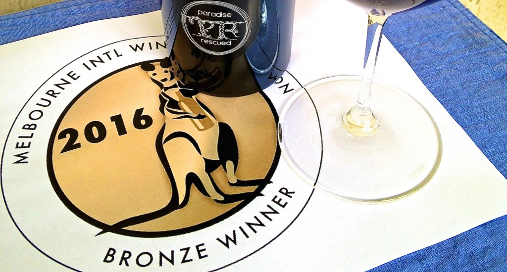 Paradise Rescued Cloud9 Cabernet Franc wins BronzeMedal at Melbourne International Wine Competition.