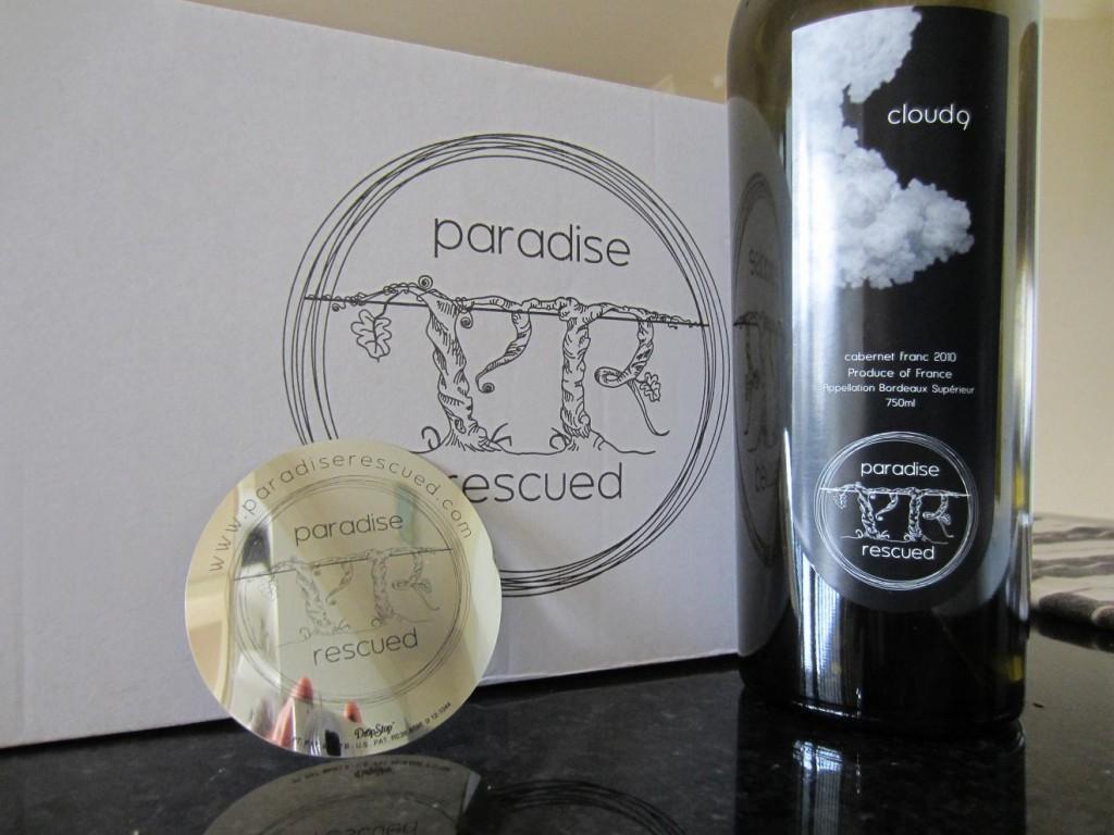 Paradise Rescued - Cloud9 Cabernet Franc Bordeaux Supérieur