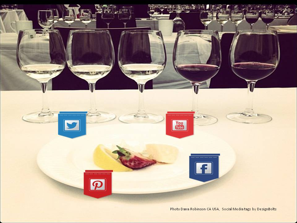 Matching wines and social media? Which goes best with what?