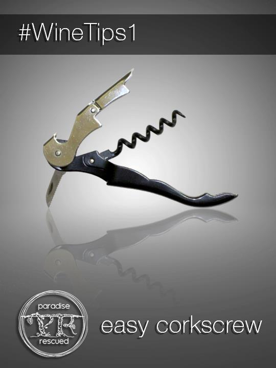 #WineTips 1 Easy Corkscrew