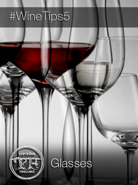 A good wine glass is essential to the pleasure of drinking wine