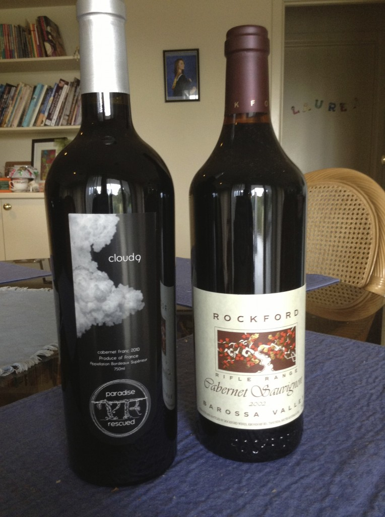 Serious Cabernet.... Paradise Rescued Cloud9 CabFranc and Rockford