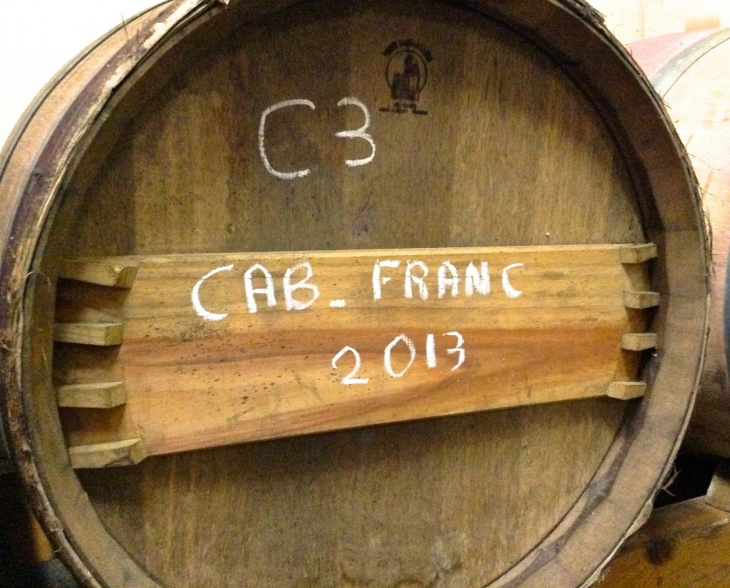 "We will looking to go ""one better"" again with our 2014 Cabernet Franc"