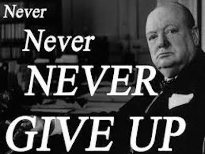 Winston Churchill's famous quote          Photo fotoimagepics.info