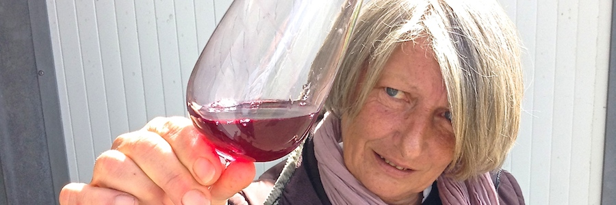 Paradsie Rescued vigneronne raises a CabFranc glass to #CabernetDay