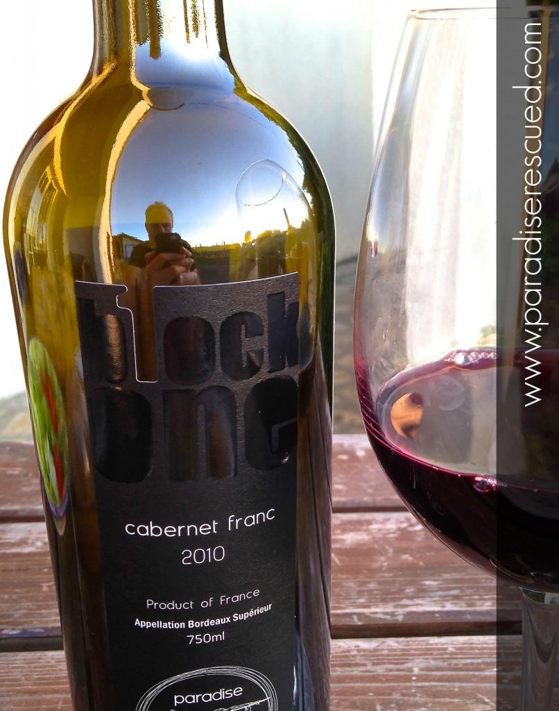 B1ockOne Bordeaux CabernetFranc - reflecting our passion