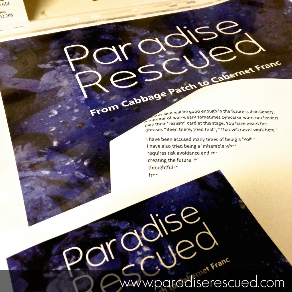 Starting to review layout and final proofs of our first book.