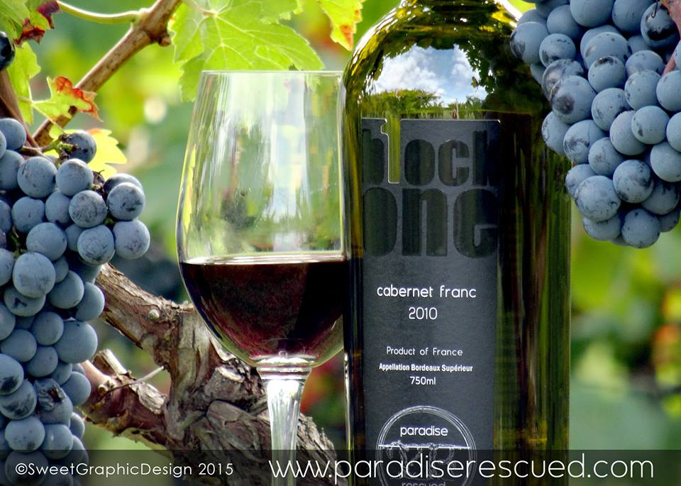 The Paradise Rescued vision led directly to the development of varietal B1ockOne Bordeaux Cabernet Franc.