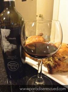 Paradise Rescued Bordeaux Cloud9 Cabernet Franc - perfect with roast meats