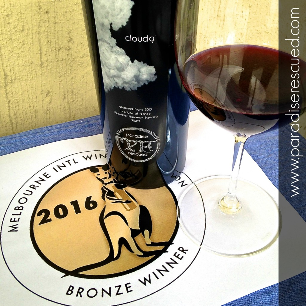 MIWC Bronze Medal Winner Cloud9 2010 Cabernet Franc