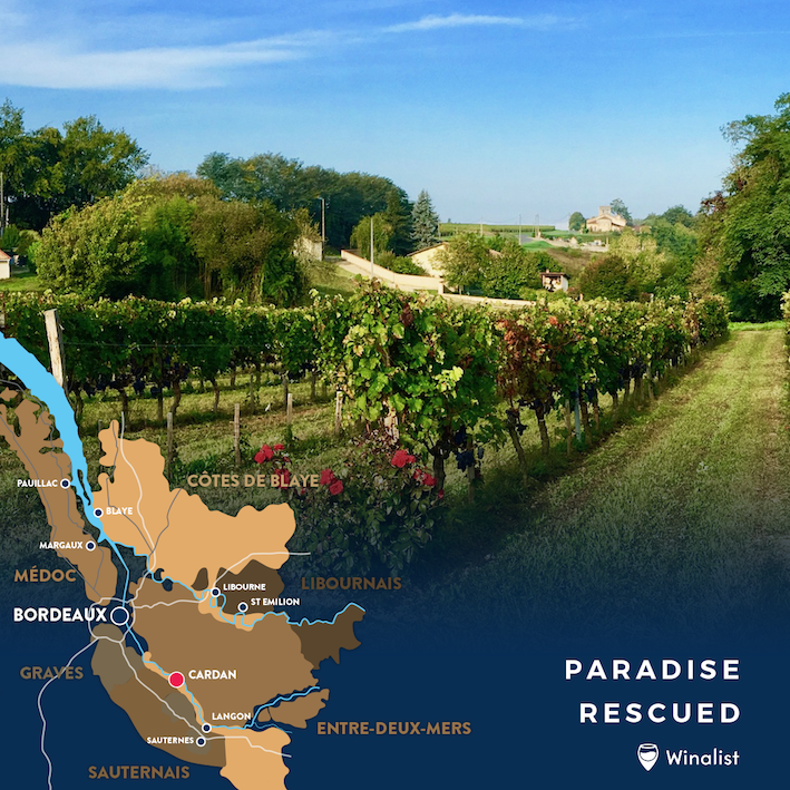 Paradise Rescued open cellar door.